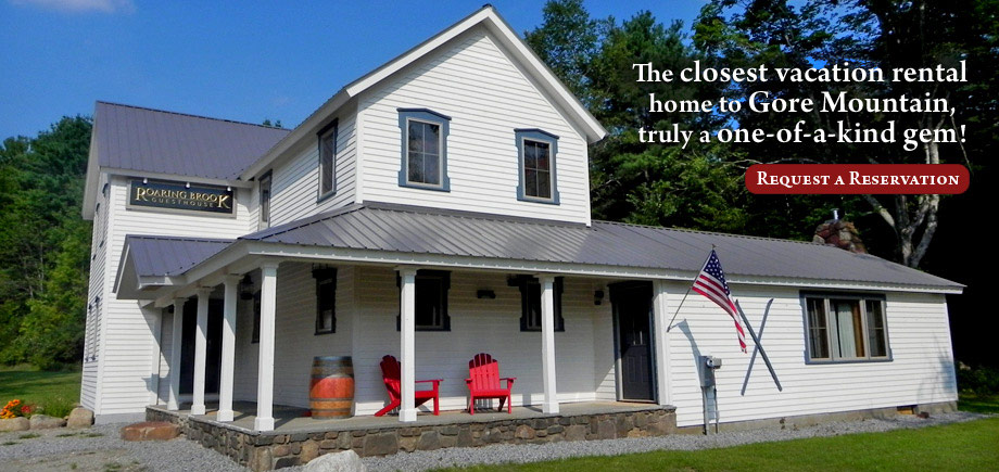 Roaring Brook Guesthouse - House Rental Near Gore Mountain Ski Center