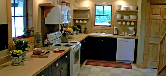 Beautiful Gore Mountain Rental Kitchen